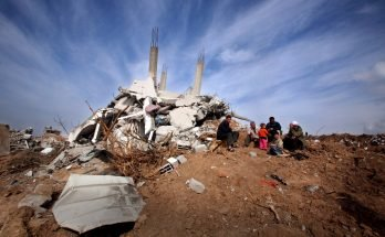Vivienda palestina destrozada Photo by EFE / Ali-Ali