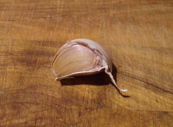 un diente de ajo