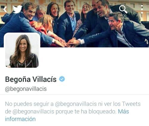 Begoña Villacis bloquea Proscojoncio