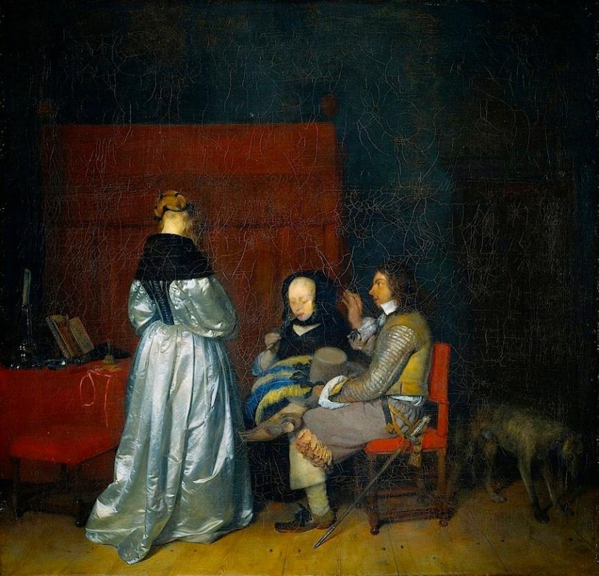 El Consejo Paterno o la ConversaciónGalante
