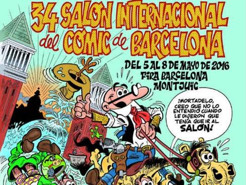 poster 34 salon comic barcelona